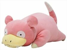 "GENUINE Sanei Pokemon Sun & Moon  Mochifuwa Cushion PZ14 Slowpoke 18"" Plush"