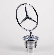 Emblems For MERCEDES BENZ 3D Logo Spring Hood Standing Badge E320 S500 CLK320
