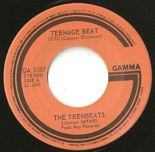 "THE TEENBEATS TEENAGE BEAT & STRENGTH OF THE NATION CANADA 7"" 1980  MOD REVIVAL"