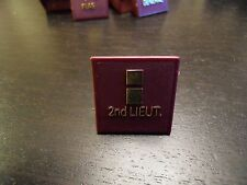 """1 X Pawn or Token for the """"The Generals"""" Electronic Board Game Red Parts Vintage"""
