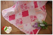 Annie Pink Patchwork Sofa/Chair/Bed Throw/Blanket made with Laura Ashley Fabric