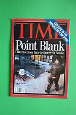 TIME rivista magazine N.20 MAY 17 1993 CLINTON COMES FACE-TO-FACE WITH BOSNIA
