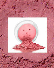 100% Mineral Makeup Blush Powder Pretty in Pink Full 5g Blush in 20ml Sifter Jar