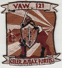 VAW-121 BLUETAILS DESERT CELER, AUDAX, FORTIS SHOULDER PATCH