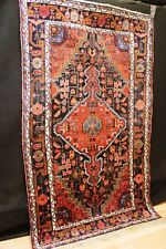 "Antiker US MALAYER Bachtiar Orient ""seltene Farben"" TEPPICH Old Rug Carpet #0015"