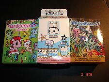 "Tokidoki UNICORNO 2.5"" FIGURE s4 MOOFIA s2 MERMICORNO (sealed boxes)"