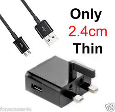 PLUG IN CHARGER FOR FITS MICROSOFT MICRO USB THIN PIN 2015 MOBILE PHONE