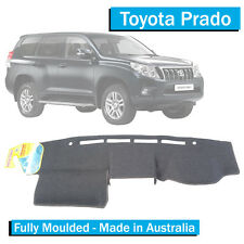 Toyota Prado 150 Series (2013-Current) - Dash Mat - Charcoal - Fully Moulded 155