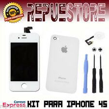 Kit Pantalla Completa LCD para iPhone 4S Retina + Tapa trasera Display AAA