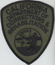 California Dept of Corrections & Rehabilitation SUBDUED shoulder patch CA CDCR