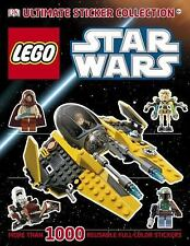 LEGO  Starwars ultimate Sticker Collection  1000 reusbale stickers!!!!!!!!!!!!!!