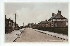 Roscoe And Francis Road Junction Irlam Manchester Lancashire c930's Old Postcard
