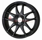 WORK Wheel EMOTION CR Ultimate Kiwami 15inch Matt Black (MBL) 5.0J 45 4H/100