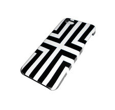 NEW BLACK AND WHITE RIGID PLASTIC APPLE IPHONE 5 5S S CASE SUPER FAST SHIPPING