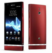 "4"" Sony Ericsson Xperia P LT22i Android 8MP Unlocked Smartphone 16GB Red"