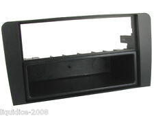 FP-05-09 AUDI A3 204 to 2009 BLACK SINGLE/DOUBLE DIN FASCIA ADAPTOR PANEL FACIA