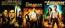 The Librarian Complete Trilogy 1 2 3 DVD Movies