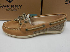 SPERRY TOP SIDER WOMENS BOAT SHOES FIREFISH LINEN OAT SIZE 8 Wide