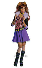 Robe fantaisie ~ Filles Monster High Clawdeen Wolf Costume petit âge 3-4