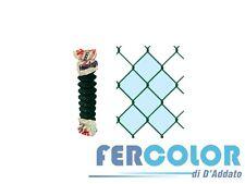 300311 - Reti Nevada 25 mt rete recinzione griglia zincata plastificata H 100