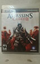 """""""Assassin's Creed II""""  """"Sony PlayStation 3"""" Video Game w/ Case Manual 2009"""
