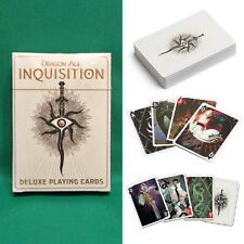 Dragon Age: Inquisition Deluxe Playing Cards Tarot Style Poker Deck *Sealed*
