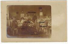 St. Georg Station Lazarett Soldaten Schild Innenansicht Postkarte