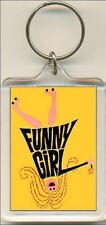 Funny Girl. The Musical. Keyring / Bag Tag.