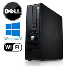 ULTRA FAST DELL  PC COMPUTER DESKTOP TOWER WINDOWS 10 WIFI 8GB RAM 1000GB HDD
