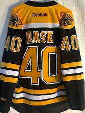 Reebok Premier NHL Jersey BOSTON Bruins Tuuka Rask Black sz M
