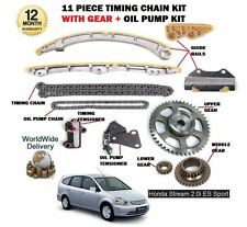 FOR HONDA STREAM 2.0 16V K20A1 156BHP 2001-  TIMING CHAIN + GEARS + OIL PUMP KIT