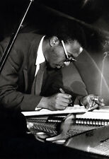 Thelonious Monk Poster, Smoking, Composing at the Piano, Jazz