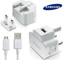 GENUINE SAMSUNG GALAXY TAB 3 10.1 & 8.0 ORIGINAL 2.0 AMP USB MAINS WALL CHARGER