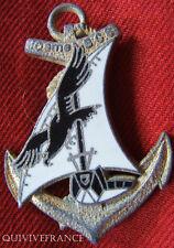 """IN5571 - INSIGNE 10° B.C.S, Bataillon de Commandement Services, """"B"""", doré"""