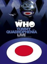The Who Tommy and Quadrophenia Live With Guests DVD Nov 2005 3 Disc Set