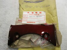 NOS Honda 50411-371-000ZA REAR SHELTER COVER GL1000 GOLDWING CANDY ANTARES RED S