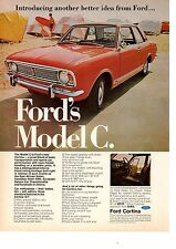 1967 FORD CORTINA MODEL C  ~  CLASSIC ORIGINAL PRINT AD