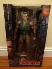 "Neca 1/4 quarter scale 18"" dutch schaefer predator arnie action figure neuf"