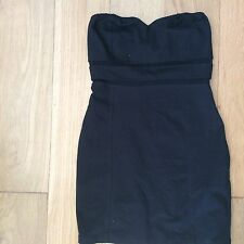 Motel Anita Dress - Black - size UK 10 (S)  New - Topshop Mote Rocks