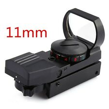 11MM Rail Riflescope Hunting Airsoft Optics Scope Holographic Red Dot Gun Sight