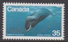 Canada 1979 #814 Endangered Wildlife - Bowhead Whale - MNH