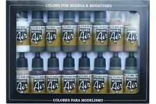 VALLEJO 71.190 WWII German Colors 16x17ml Set 2