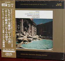 XRCD JMM24XR01: RESPIGHI Pines & Fountains of Rome TOSCANINI - OOP 2007 JAPAN SS