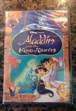 Aladdin and the King of Thieves (DVD, 2005)Authentic Bueno Vista Sealed