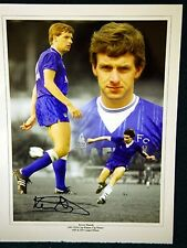 Kevin Sheedy Signed Everton Large Photograph