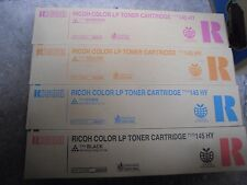 4PK Genuine Ricoh Aficio CL4000 C410dn C411dn Printer Type 145 HY Toner 888308