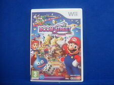 *wii BOOM STREET (No Manual) Mario & Friends Feat In New Party Game Nintendo PAL