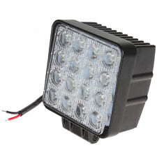 5000LM 4 Inch Square Offroad 48W 16x 3W Waterproof LED Work Light Car Spotlight