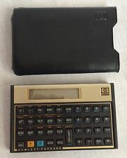 Hewlett Packard HP 12C Financial Calculator & Case Hand Held Business