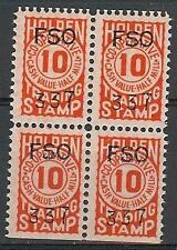 US Holden FCO 337  trading stamp 10 mil Co-operative block 4 MNH cinderella ?